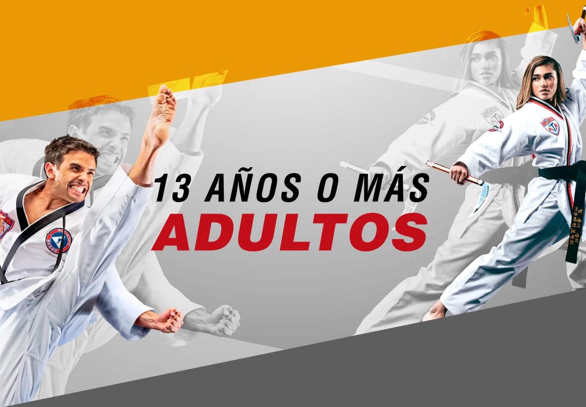 Taekwondo para jóvenes y adultos