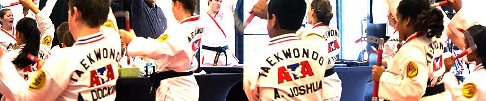 Clases de Taekwondo ATA en San Bernardo